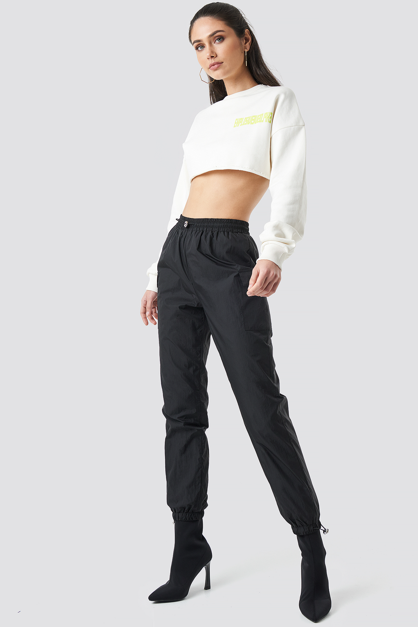 Side Pocket Track Pants NA-KDLOUNGE.DE