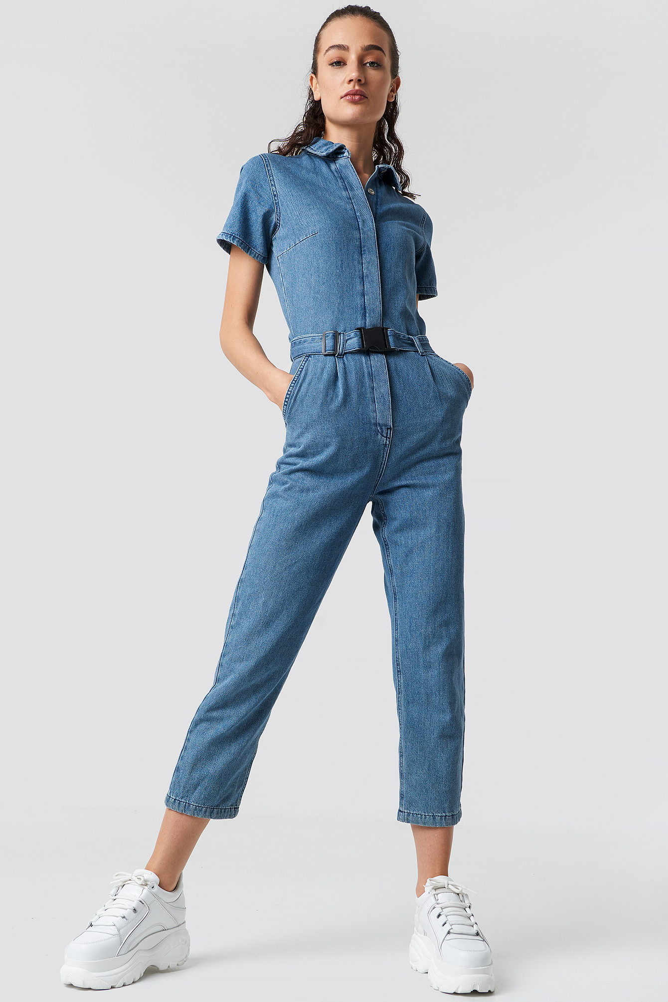 Denim Jumpsuit NA-KDLOUNGE.DE