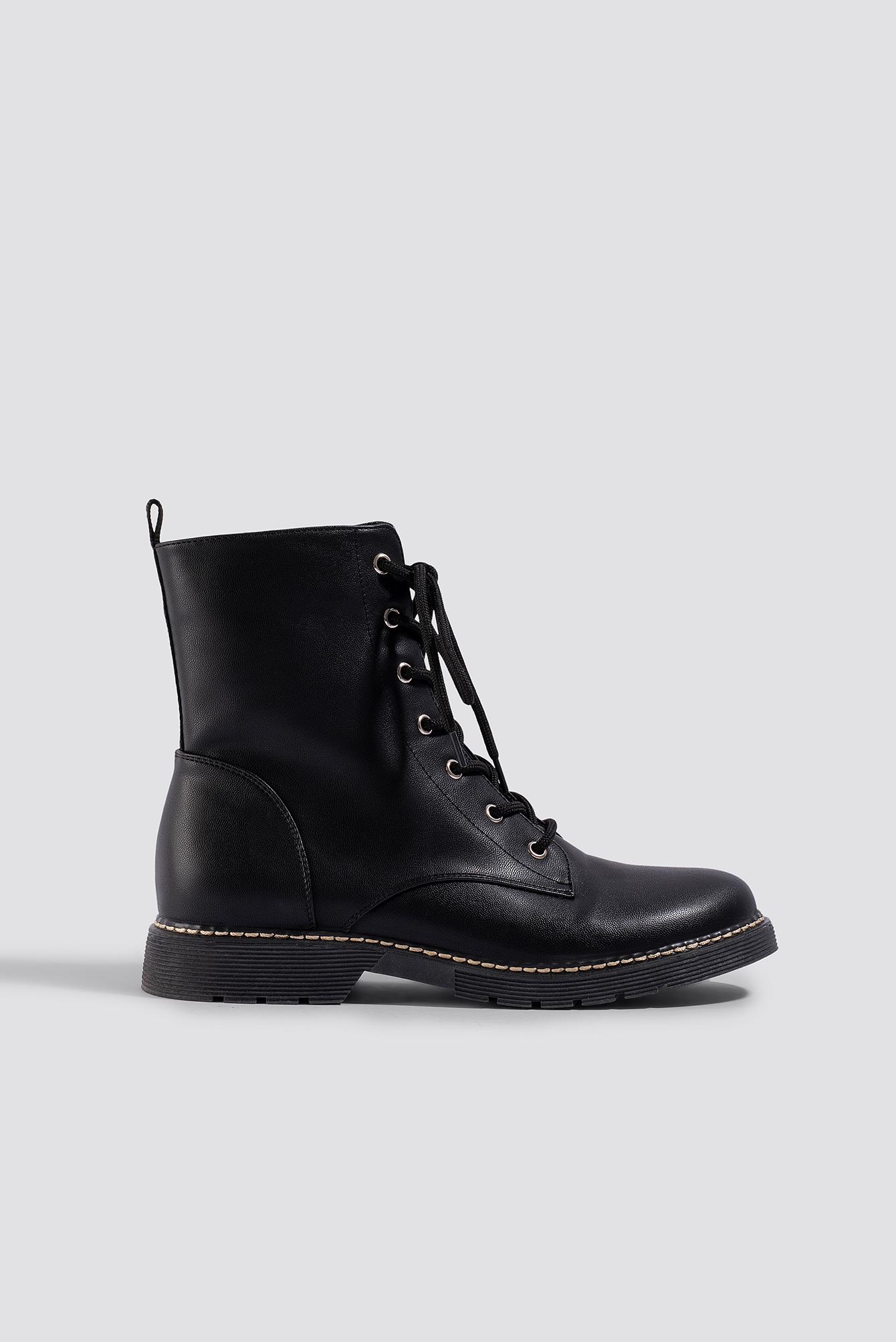 Lace-Up Boots NA-KDLOUNGE.DE