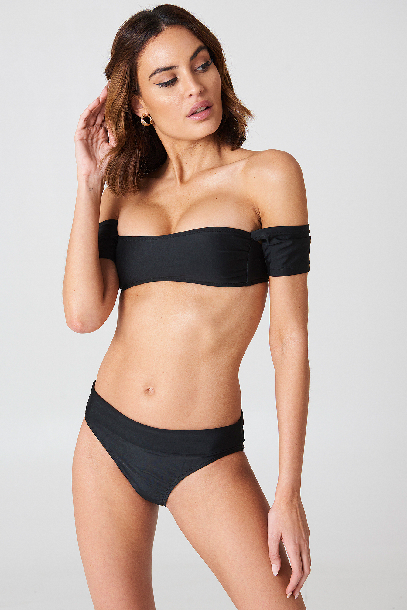 Salamanca Bardot Bandeau Bikini Set NA-KDLOUNGE.DE