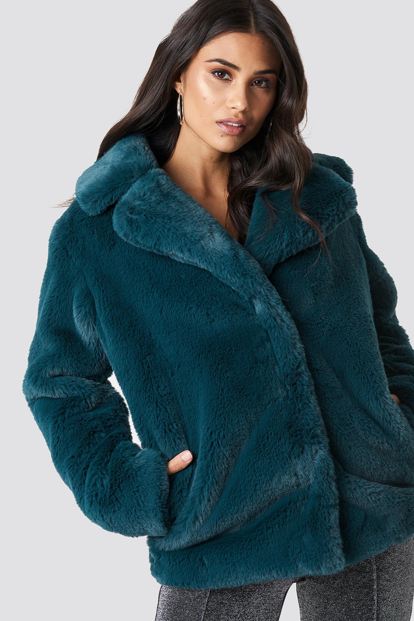 Soft Faux Fur Jacket NA-KDLOUNGE.DE