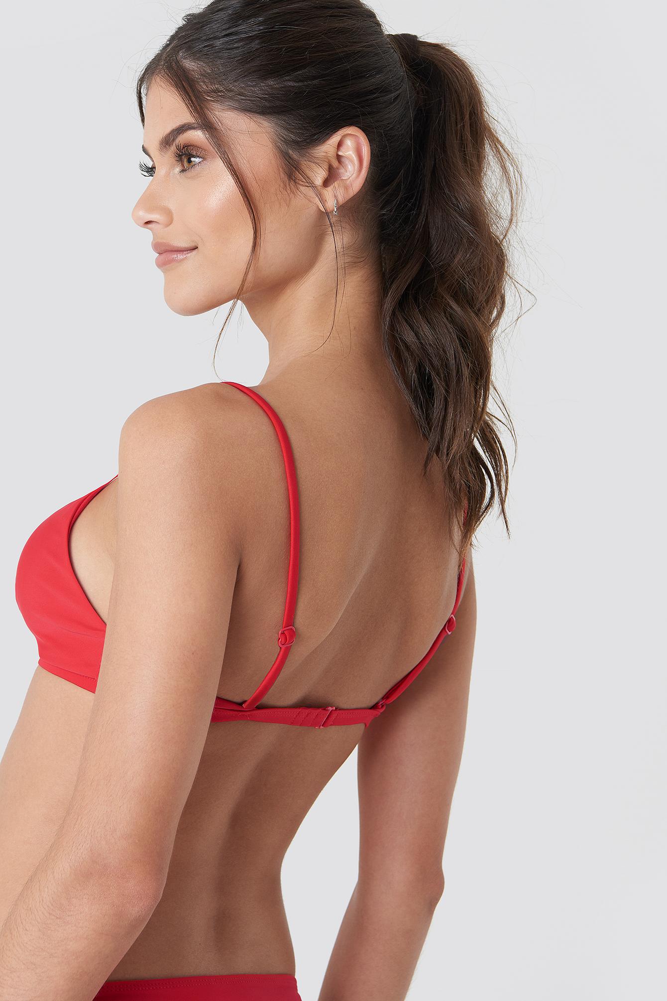 Circle Detail Bikini Top NA-KDLOUNGE.DE