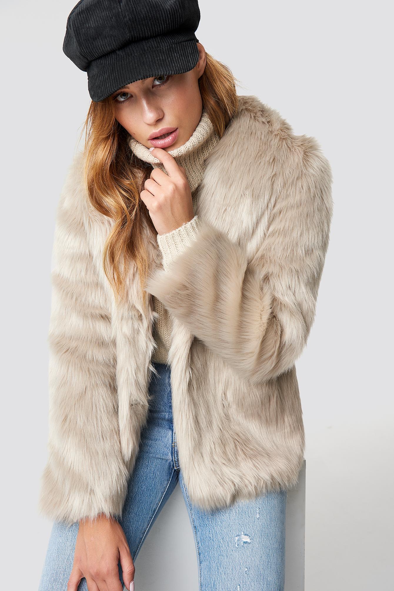 Classic Faux Fur Jacket NA-KDLOUNGE.DE