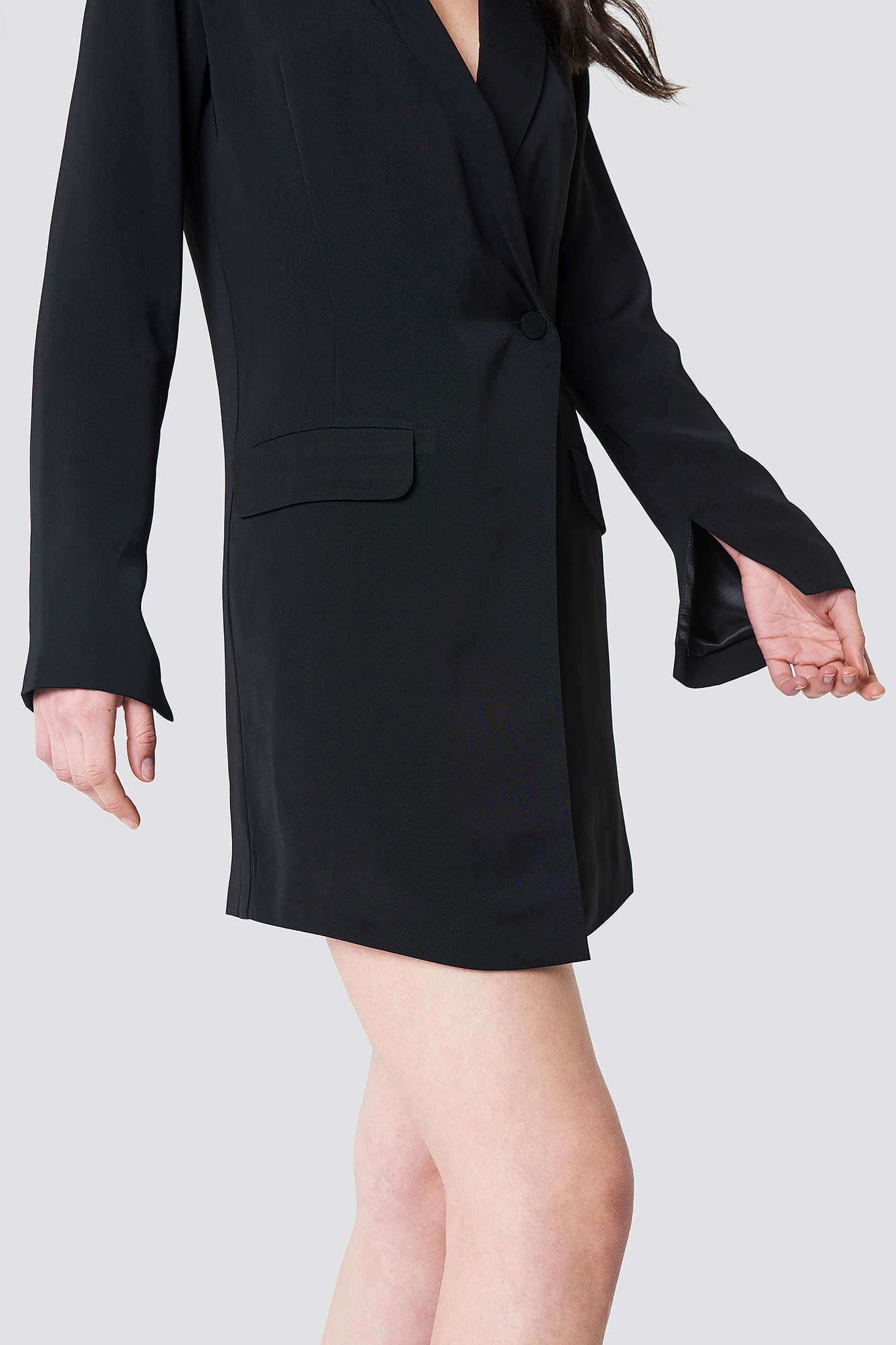 Asymmetric Blazer Dress NA-KDLOUNGE.DE