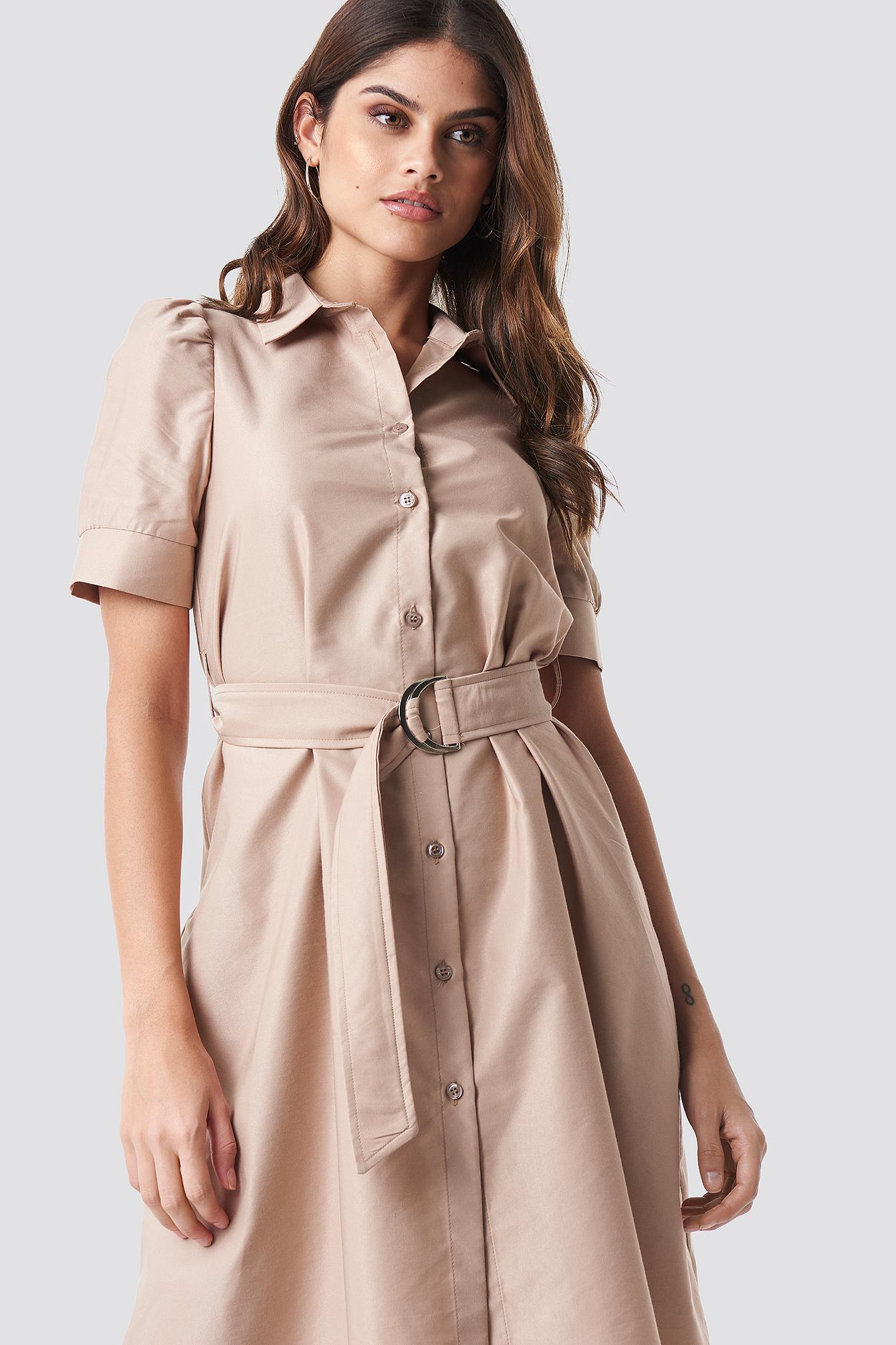 Belted Shirt Dress NA-KDLOUNGE.DE