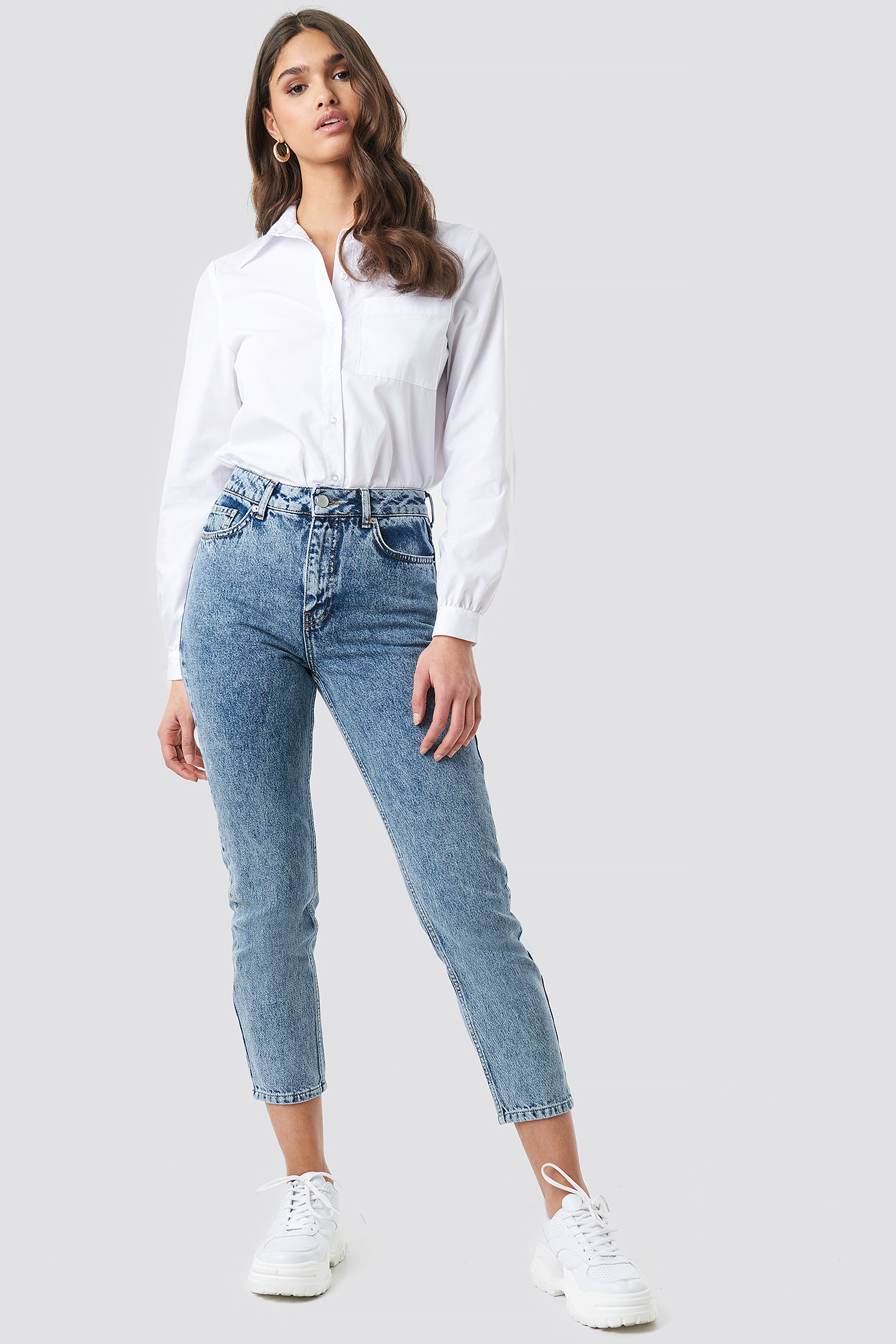 Cropped 5 Pocket Jeans NA-KDLOUNGE.DE
