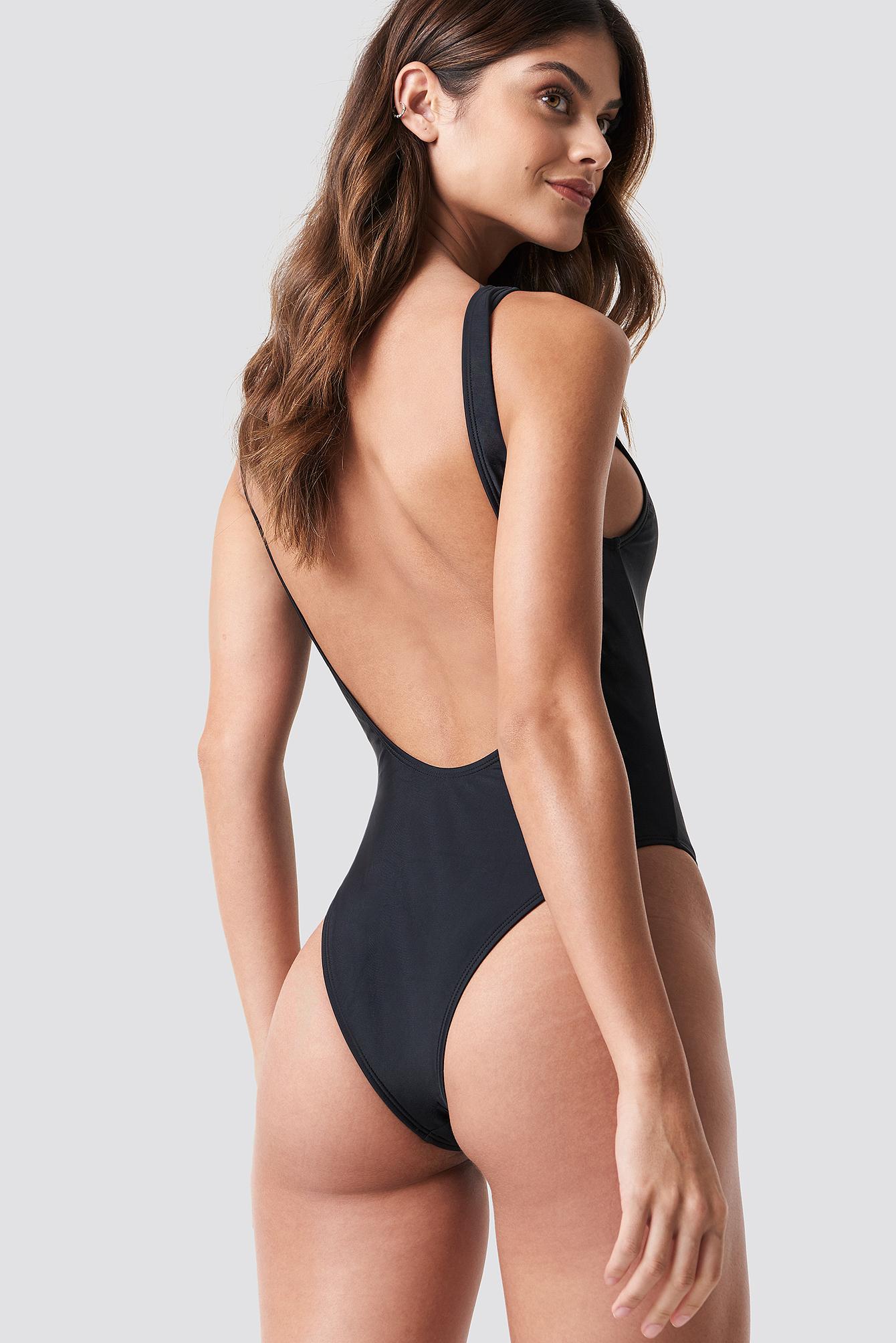 High Leg Swimsuit NA-KDLOUNGE.DE