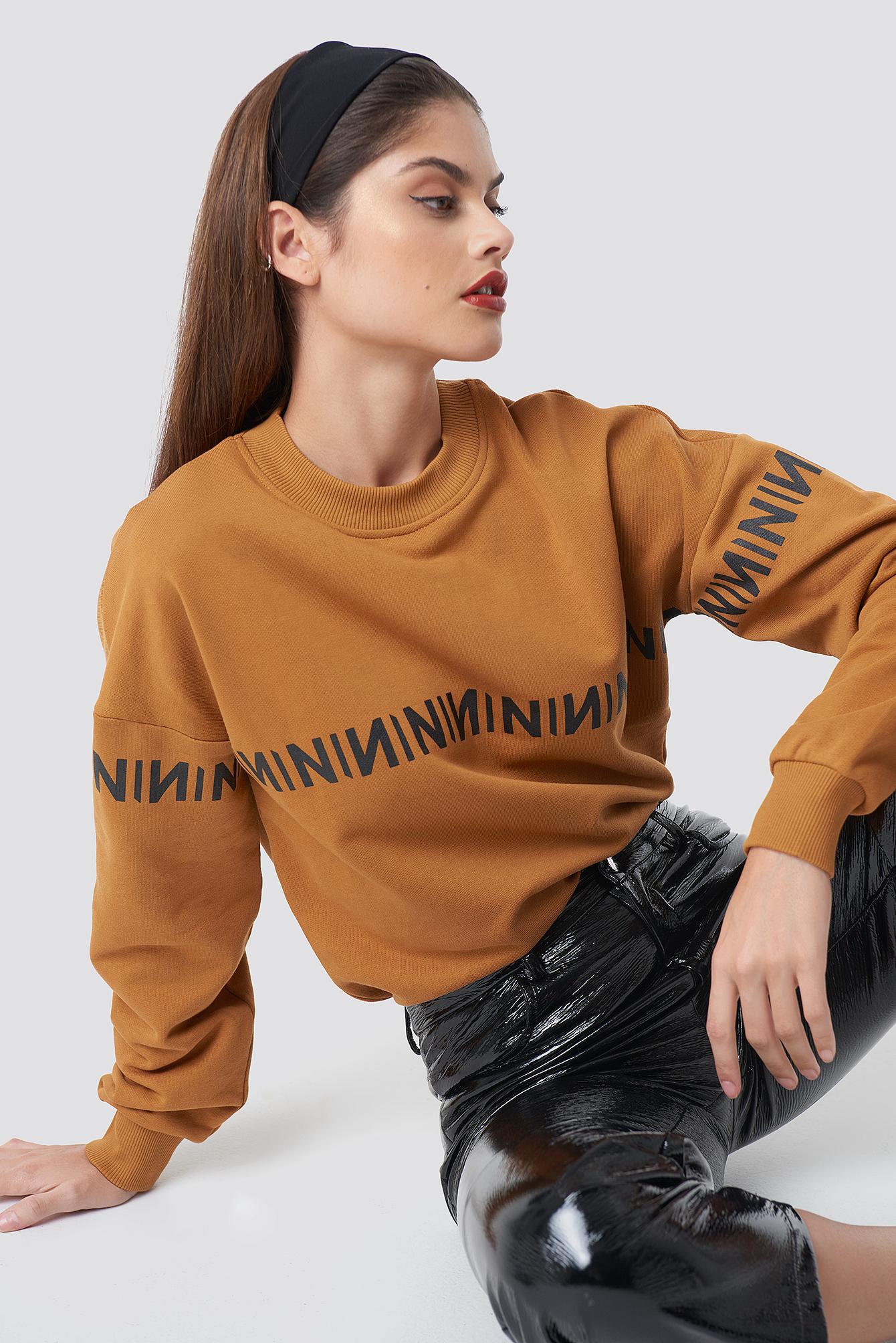 N Branded Sweatshirt NA-KDLOUNGE.DE