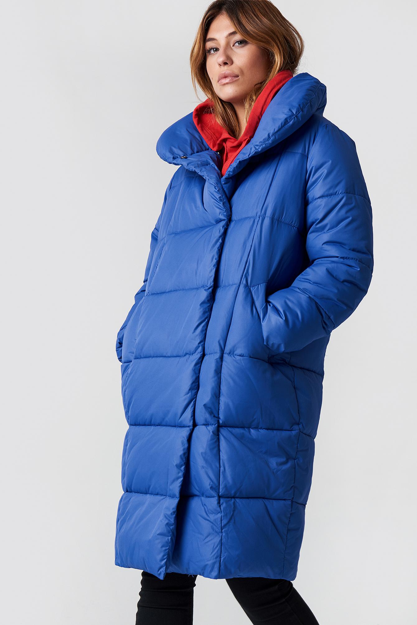 Padded Shawl Collar Jacket NA-KDLOUNGE.DE