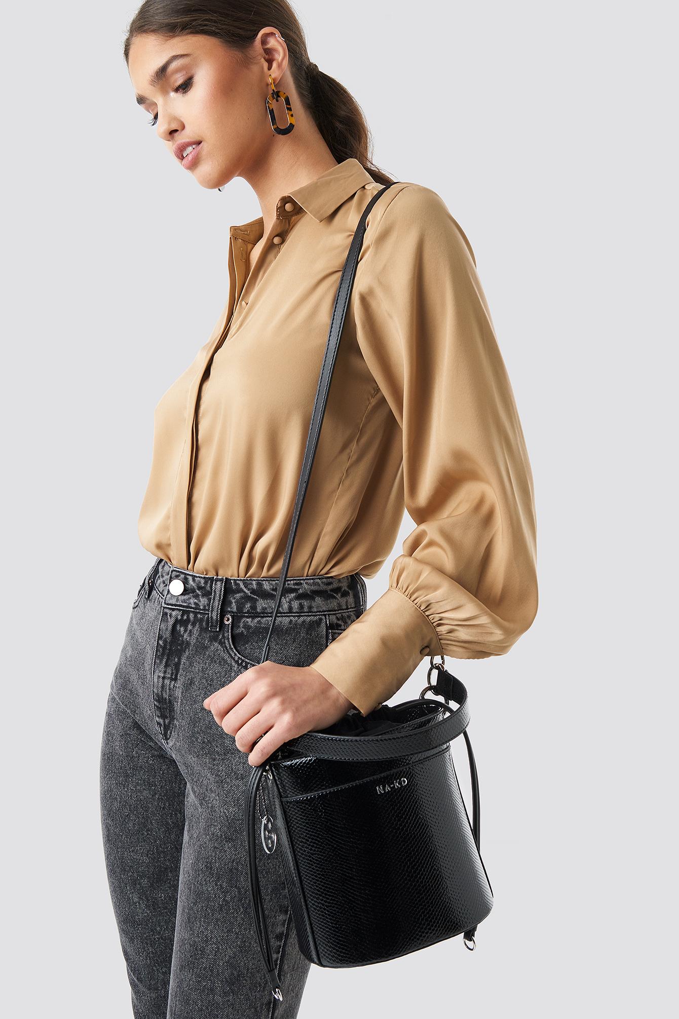 Snake Bucket Bag NA-KDLOUNGE.DE