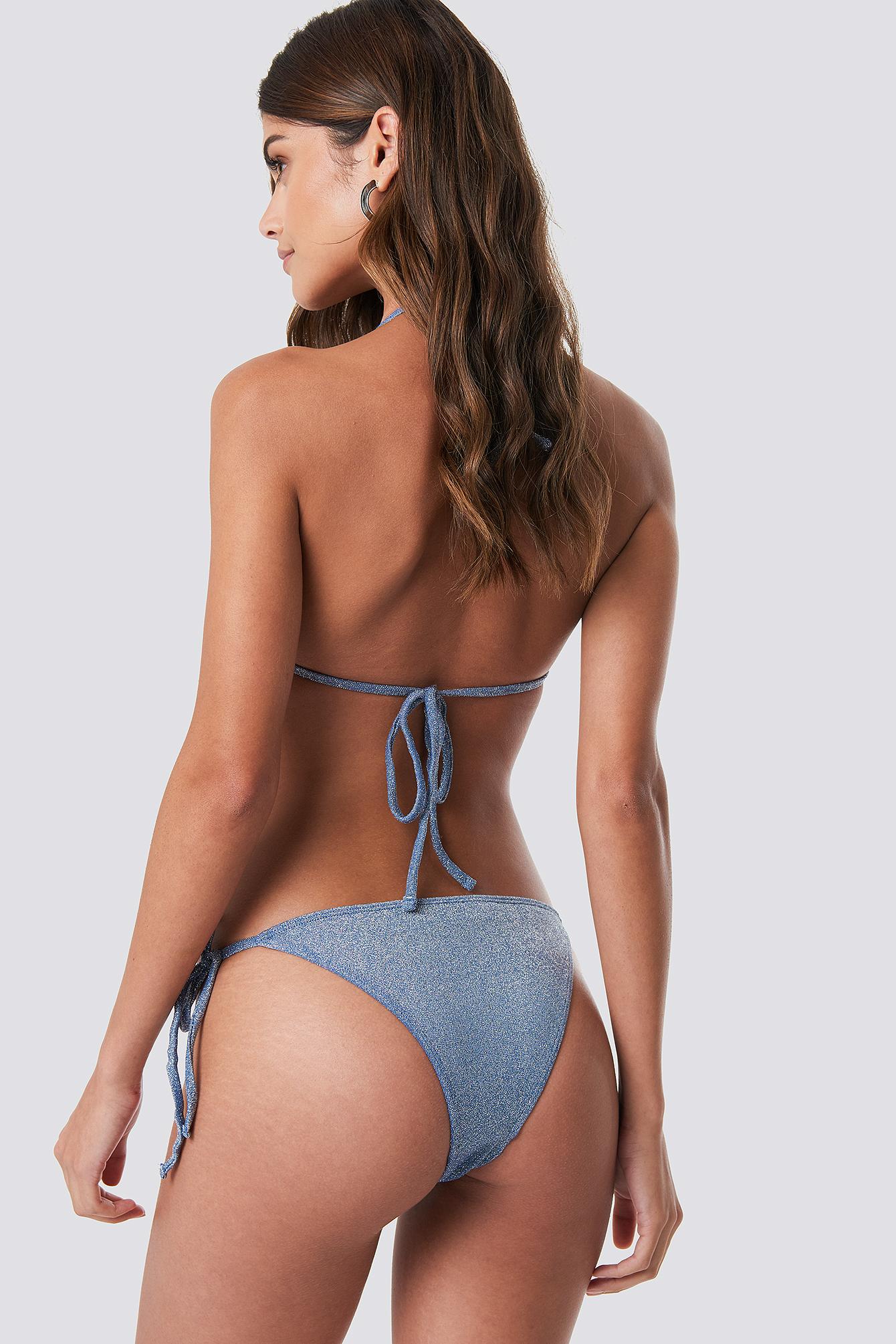 Sparkle Triangle Bikini Top NA-KDLOUNGE.DE