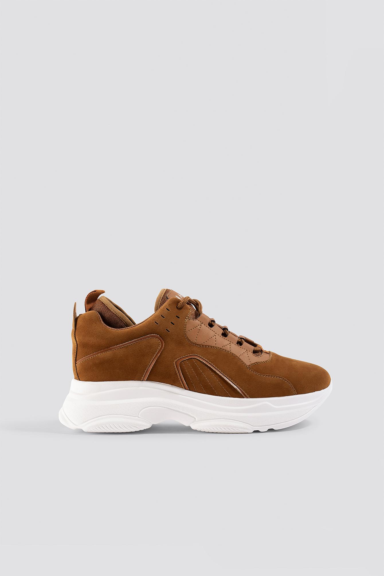 Sporty Faux Suede Sneakers NA-KDLOUNGE.DE