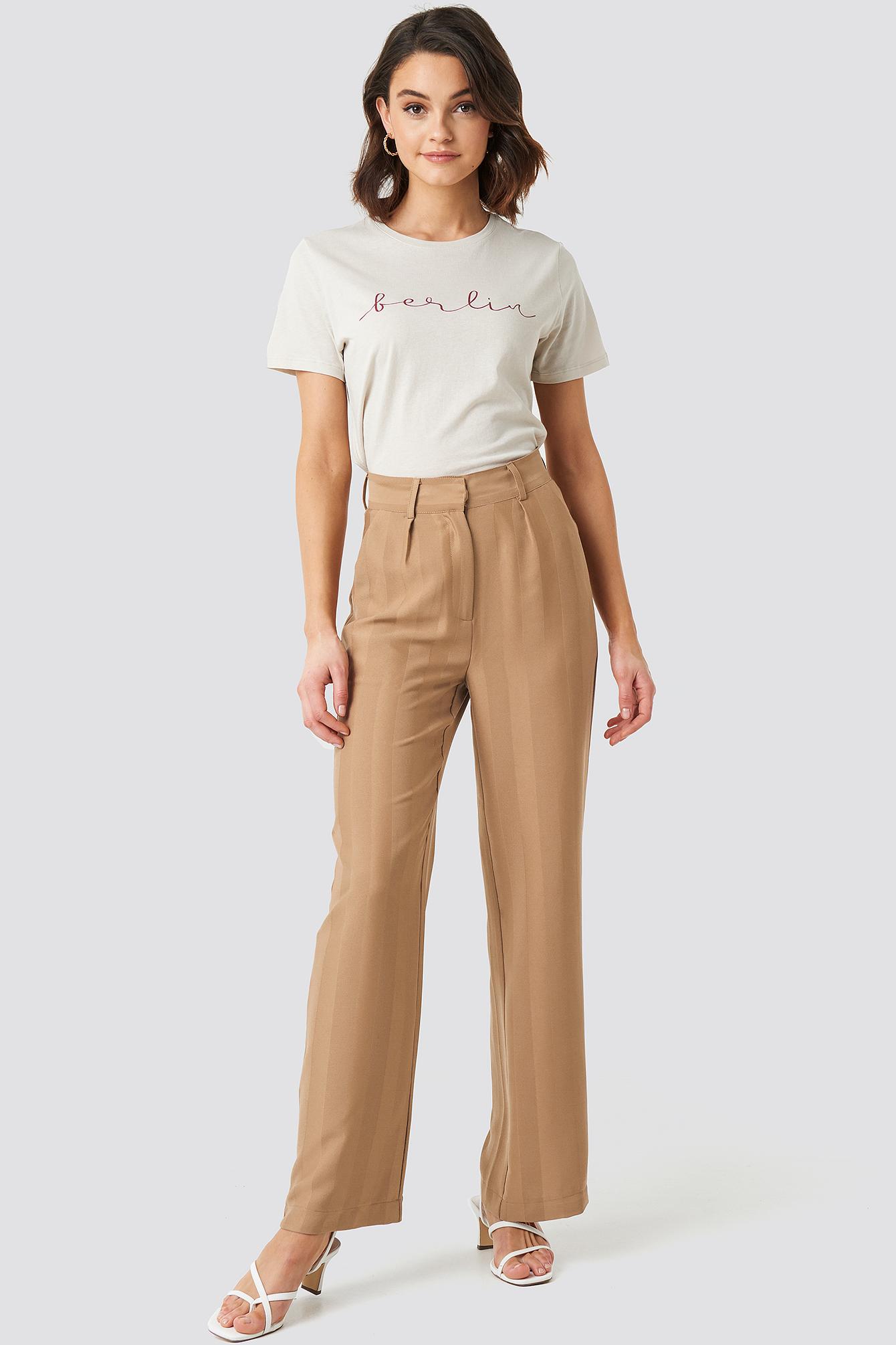 Striped Wide Trousers NA-KDLOUNGE.DE