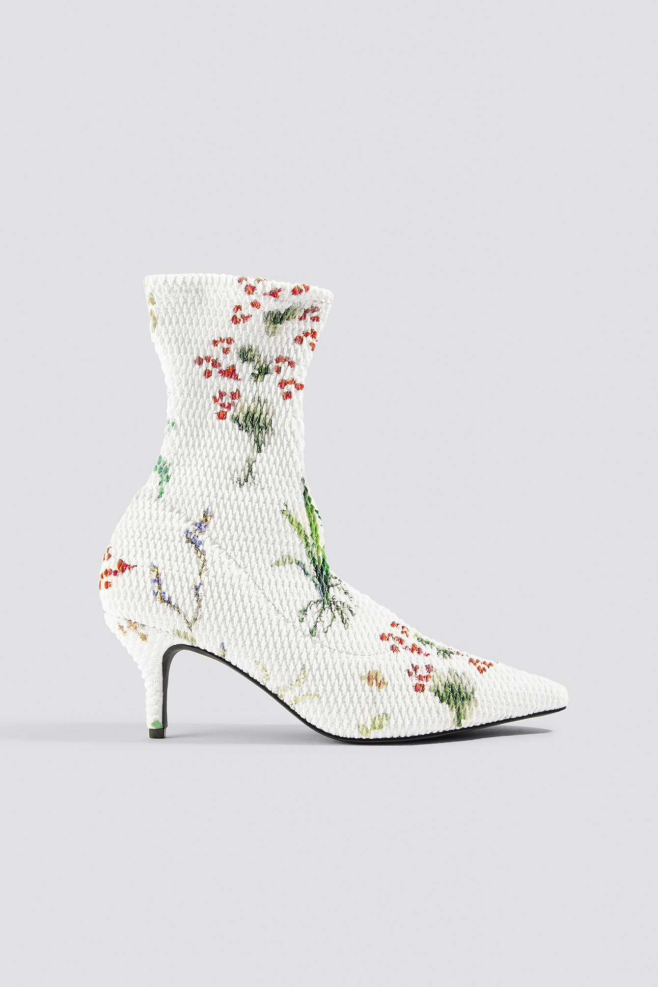 Textured Sock Boots NA-KDLOUNGE.DE