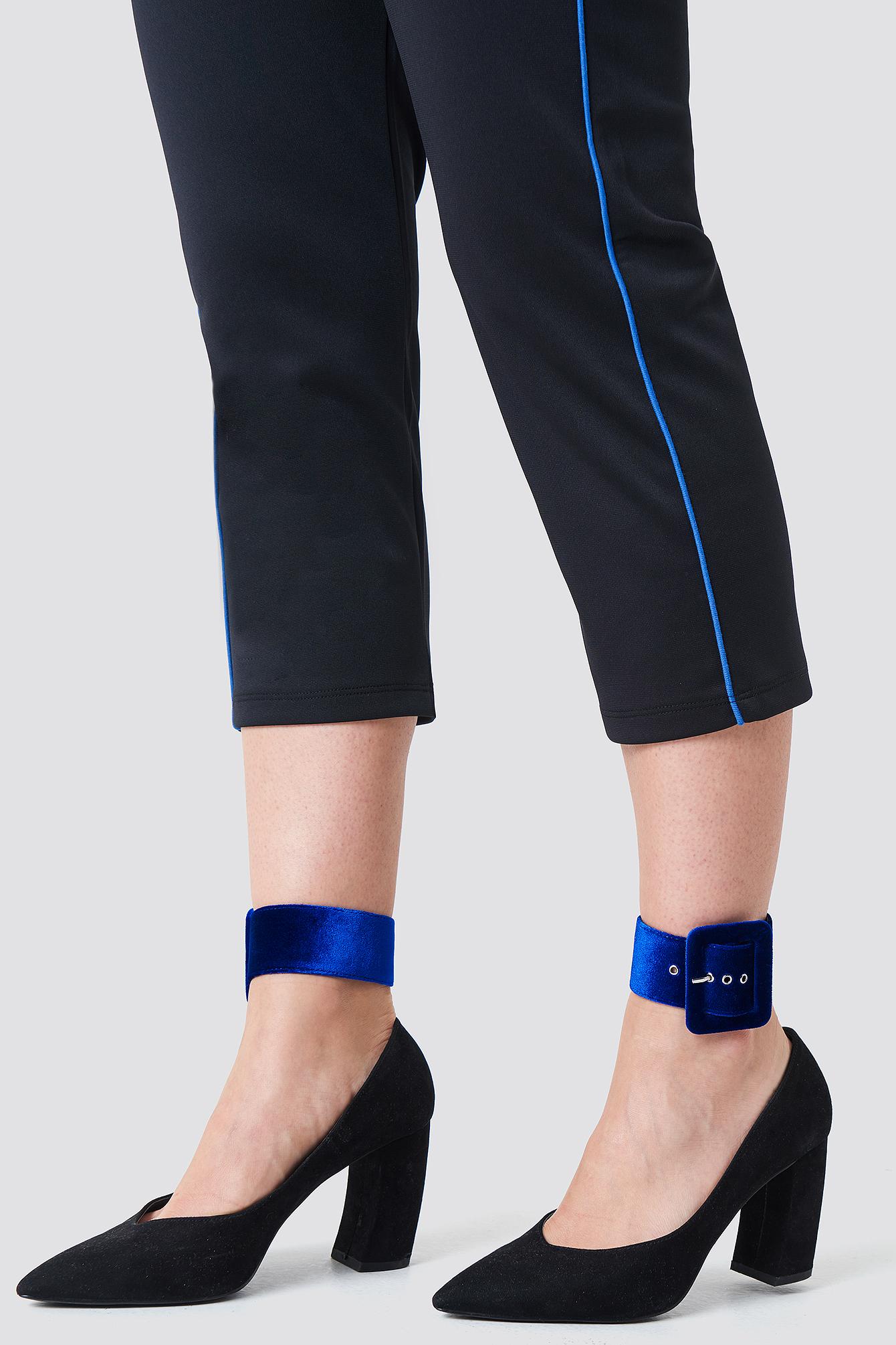 Velvet Ankle Cuffs NA-KDLOUNGE.DE