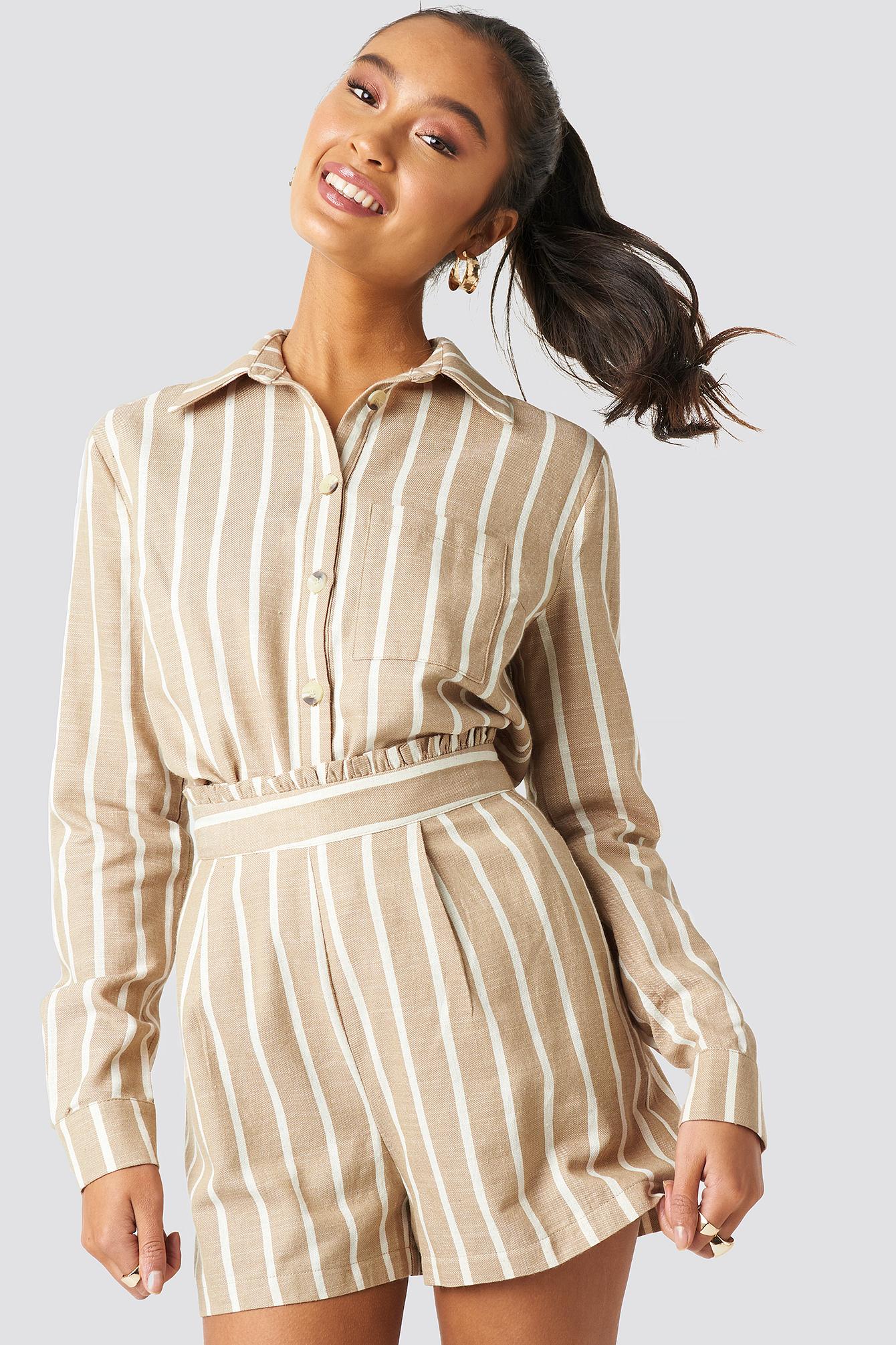 Milla Striped Shirt NA-KDLOUNGE.DE